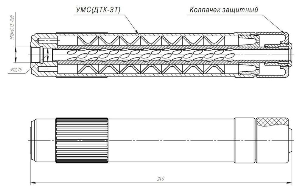 ДТК-ЗТ Сайга 410